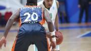 Lafayette fue uno de los máximos anotadores del Valencia Basket, pero su esfuerzo fue en vano.