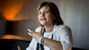 La portavoz de PPCV en les Corts Valencianes, Isabel Bonig