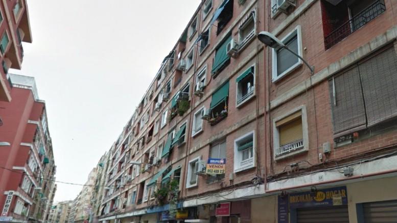 Calle Padre Viñas de Orriols.