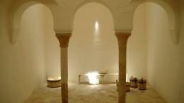 Sala templada de los Baños del Almirante.