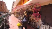 Mercado de Russafa, uno de los barrios que más sufre la contaminación acústica