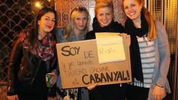 Fotografía facilitada por estudiantes erasmus a Salvem El Cabanyal y publicada en una red social.