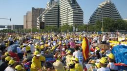La visita del Papa a Valencia en 2006