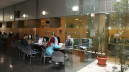 Una Oficina del Servicio de Empleo Público