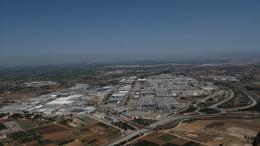 Vista aérea del polígono en el que se ubica la factoría Ford
