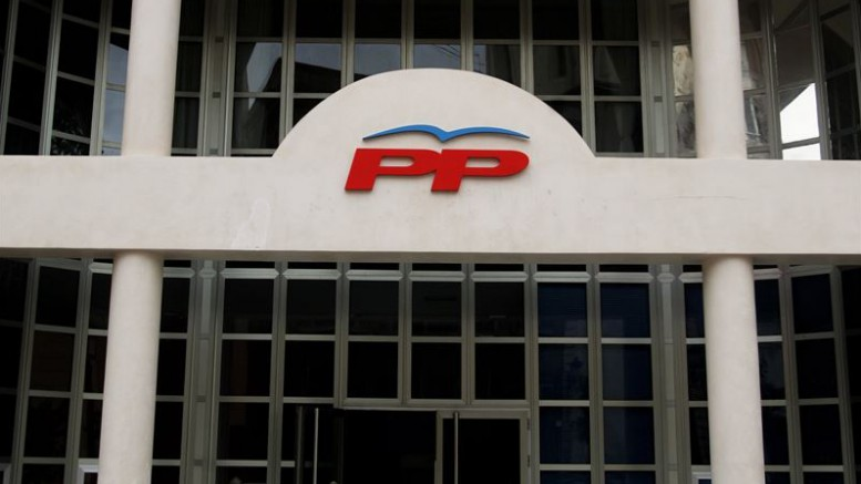 Sede del PP, calle Quart, Ayuntamiento