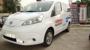 El primer taxi 100% eléctrico de la Comunidad Valenciana es la Nissan e-NV200