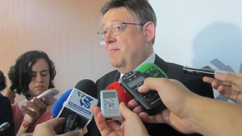 Ximo Puig quiere potenciar el sector de la distribución comercial