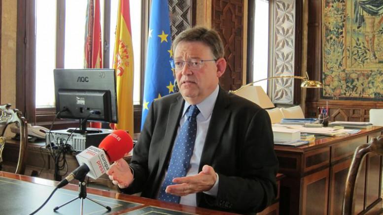 Ximo Puig quiere recurrir los PGE 2016