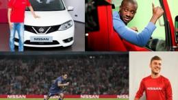 Nissan Patrocinador Automovilístico Oficial de la UEFA Champions League 2015-2016