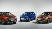 Ford amplía su familia SUV con el eficiente y elegante Edge y mejora el Kuga y el EcoSport