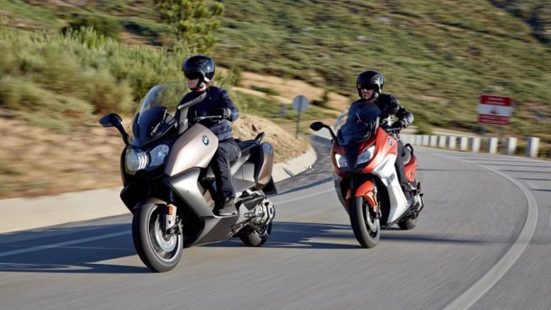 BMW presenta sus maxi-scooters C 650 Sport y C 650 GT