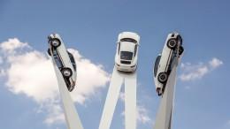 """""""Inspiración 911"""" - Inauguración de la escultura con un extraordinario espectáculo en la Porscheplatz"""