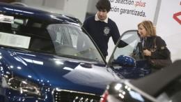 Las matriculaciones de coches crecen un 23,3% en agosto y acumula dos años de crecimiento
