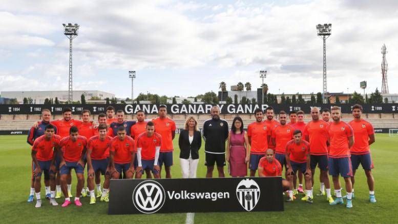 Volkswagen patrocinador del Valencia Club de Fútbol para la temporada 2015/2016