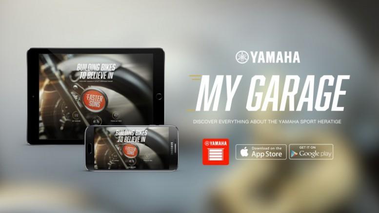Yamaha presenta la app My Garage, para configurarte tu moto en 3D