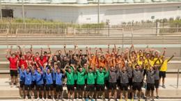 56 jugadores en Abu Dhabi para el Race Camp europeo de NISMO PlayStation GT Academy 2015