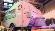 Una caravana de tamaño real construida enteramente de LEGO