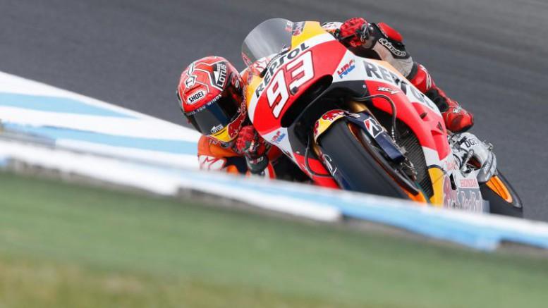 Márquez lidera en Phillip Island en el Gran Premio Pramac de Australia de MotoGP™ Márquez lidera en Phillip Island en el Gran Premio Pramac de Australia de MotoGP™