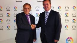 Mazda y LaLiga firman un acuerdo para la temporada 2015/2016