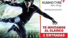 Kumho Tyre te invita al clásico de La Liga