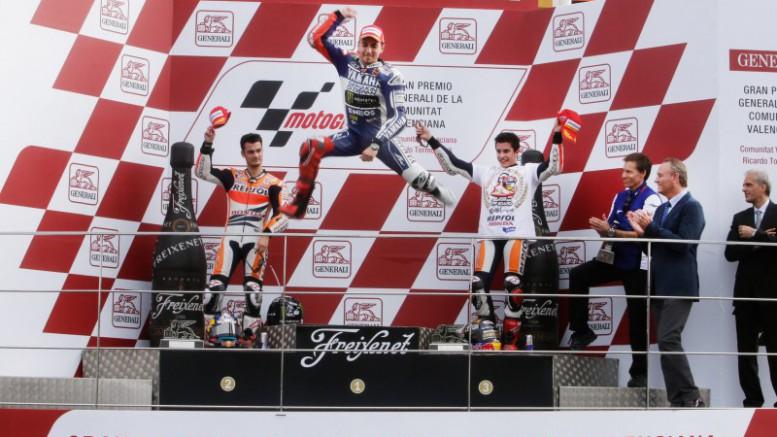 La carrera de Valencia decidirá el título de MotoGP entre Rossi y Jorge Lorenzo