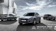 Peugeot, vehículo oficial del Valencia Open de tenis