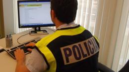 Policía. Operación contra la pornografía infantil