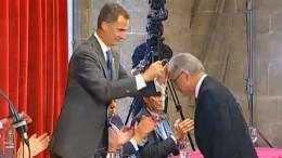 Reyes, El Rey Felipe VI participa en un acto oficial