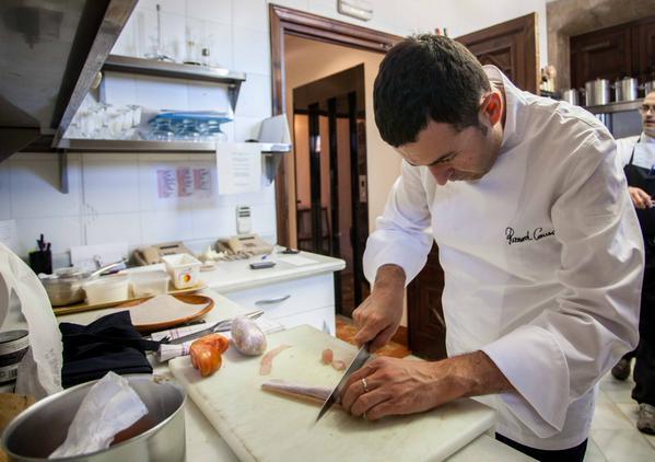 Chef valenciano Ricard Camarena