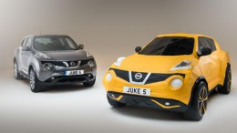 Nissan crea un Juke de papiroflexia para celebrar su 5º aniversario