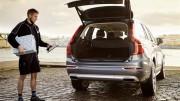 Volvo lanza un nuevo servicio de entrega en el coche