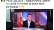 Tweet Albert Montañés pidiendo la independencia de Cataluña
