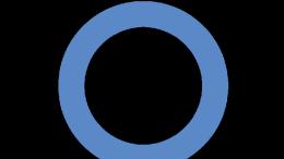 Imagen del círculo azul como símbolo del Día Mundial de la Diabetes, que se conmemora cada 14 de noviembre