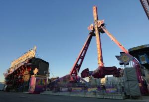 Una de las atracciones de la Feria de Noviembre de Ontinyent