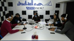 En Bon dia valencians con los jóvenes políticos