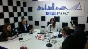 Maria Such, Toni Subiela, Juanvi Pérez y Enric Bataller en Bon dia valencians