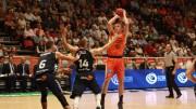 Victoria del Valencia Basket frente al Laborak Kutxa