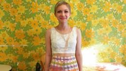 La bloguera de moda y editora de su propia revista Tavi Gevinson
