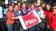 PSPV en las marchas contra la violencia de género