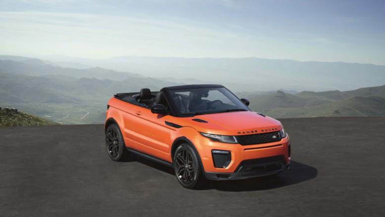 Range Rover Evoque Convertible, para todas las estaciones del año