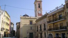 Vista de la plaza del Ayuntamiento de Alberic