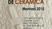 El cartel de la edición de este año de la Bienal Internacional de Cerámica de Manises