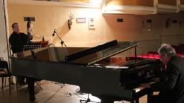 Foto del concierto de ayer en LLíria dentro del programa Desenjazz