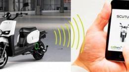 Cellnex Telecom y Scutum presentan motos eléctricas conectadas