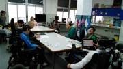 Grupo de trabajo de las personas que integran Aspace