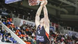 Valencia Basket consigue su séptima victoria en Eurocup