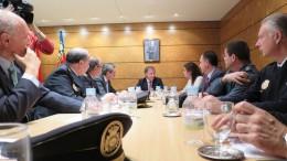 Juan Carlos Moragues se reune con la edil de Protección Ciudadana