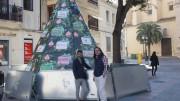 Presentación de la Pirámide Comercial de Sueca ante la campaña navideña