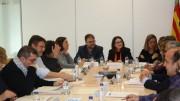 Mònica Oltra en la Comisión de ayer